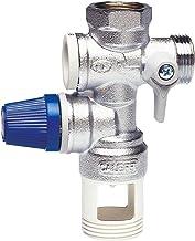 Caleffi 526142 - Veiligheidsgroep voor waterkoker 1/2 inch met afstand, controleerbaar terugslagventiel