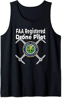 Do Not Disturb FAA Certified Drone Pilot T-Shirt Tank Top