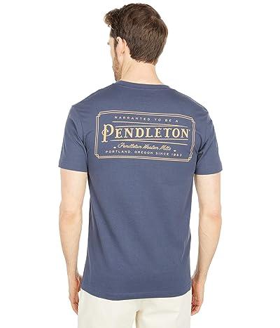 Pendleton Logo Tee (Harbor Blue) Men