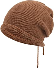 ErYao Unisex Soft Slouchy Stretch Beanie Hat Hipster Baggy Slouchy Beanie Chemo Hat Cap Scarf Beanie