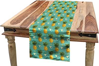 16 x 180 KESS InHouse Sreetama Ray Chevron Add Warm Chevrons Table Runner