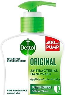 Dettol Original Handwash Liquid Soap Pump for effective Germ Protection & Personal Hygiene (protects against 100 illness c...