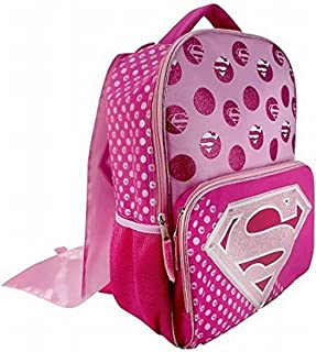 Fast Forward DC Comics Supergirl Backpack with Cape (Superhero Girls School Supplies)