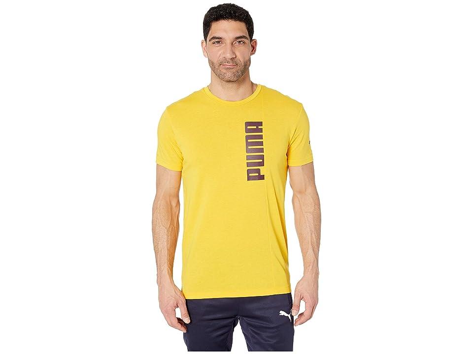 PUMA Energy Tri-Blend Graphic T-Shirt (Spectre Yellow) Men