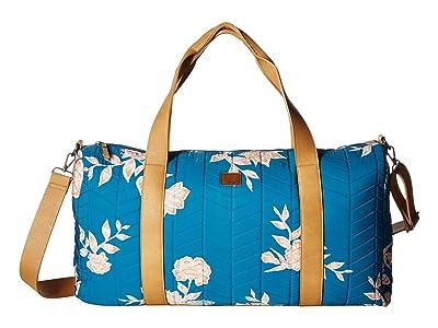 Roxy Richly Colored Medium Duffle Bag (Mykonos Blue S Eglantine) Handbags