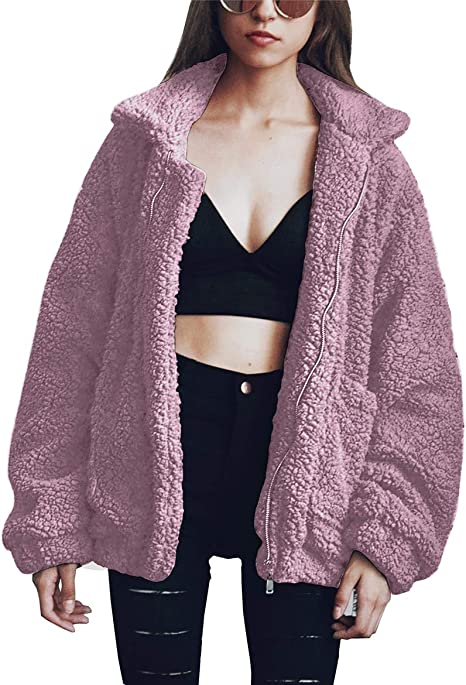 dirty purple warm teddy jacket sale jackets and sweaters aesthetic