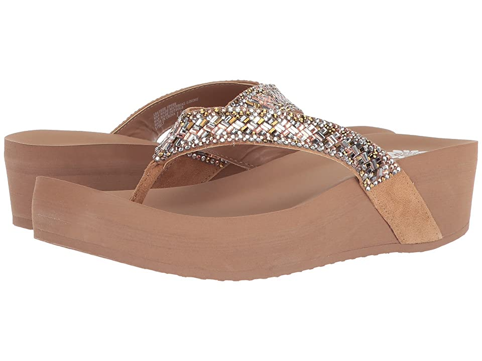 Yellow Box Everly (Toast) Women's Sandals, Brown