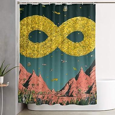 Diann O Martinez Dance Gavin Dance Waterproof Polyester Home Decor Bathroom Shower Curtain Art Shower Curtain Durable Waterproof Fabric