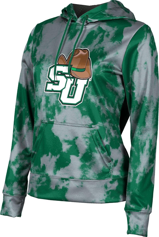 Stetson University Girls' Pullover Hoodie, School Spirit Sweatshirt (Grunge)