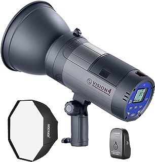 Neewer Vision 4 Flash Estroboscópico Estuido/Exteriores Batería Ion-Litio (700 Flashes a Plena Potencia) con Sistema 2,4G ...
