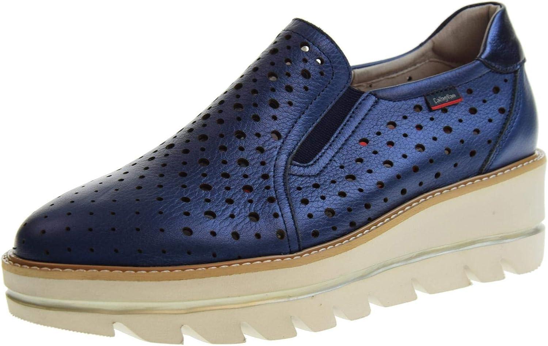 KALLAGAGAHAN damskor loafers loafers loafers med 14804 blå kil  rabattförsäljning