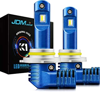 JDM ASTAR K1 10000 Lumens Extremely Bright 1:1 Design 9005 All-in-One LED Headlight Bulbs/Fog Lights/DRL, Xenon White