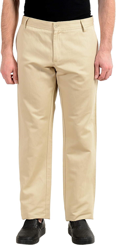 Just Cavalli Beige Men's Casual Pants US 38 IT 54