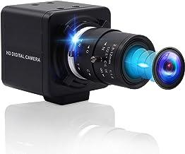 4K Optical Zoom USB Camera,Ultra HD Sony IMX317 Sensor Webcam with 2.8-12mm Varifocal Lens,3840x2160@30fps Focus Adjustabl...