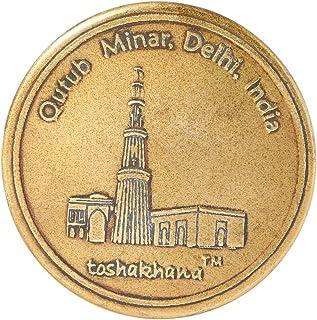 Toshakhana 1204 Bottle Opener Cum Fridge Magnet Brass G Qutub Minar Delhi India Souvenir
