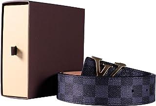 80c8af80164 Fashion Leather Metal Buckle Unisex Women Men Belt Casual Business for dress  pants jeans
