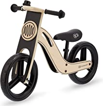 Kinderkraft Bicicleta sin Pedales UNIQ, Ultraligera, de Madera, 2+ Años