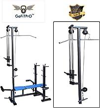 GoFiTPrO Multipurpose 20 in 1 Gym Exercise Bench