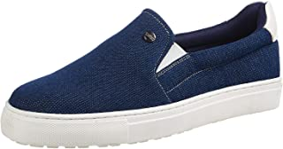 CarltonLondon Slip On Shoes for Men - Denim 40 EU