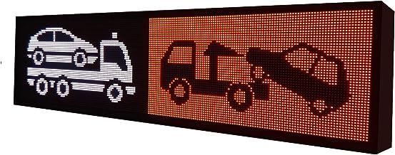 Letrero Luminoso LED programable RGB 288x48 cm para Exterior ...