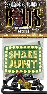 Shake Junt Wright Allen Head Black/Bronze/Gold Standard Skateboard Hardware Sets - 7/8