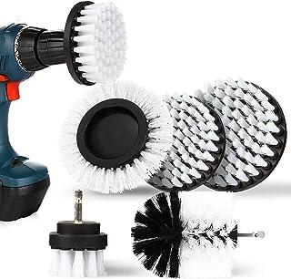 nettoyage de grandes machines /à laver brosse /à r/écurer multifonctionnelle 2 en 1-adapt/ée aux r/éservoirs de douche baignoires et sols carreaux Brosse de nettoyage