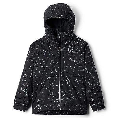 Columbia Kids Rain Scapetm Jacket (Little Kids/Big Kids) (Black Foil) Girl