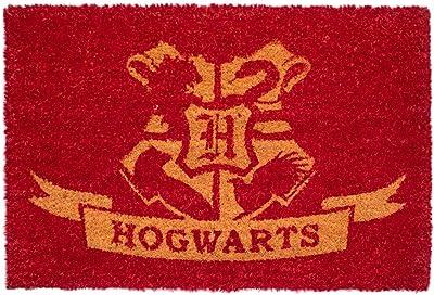 Grupo Erik Harry Potter Hogwarts Door Mat, Coconut Coir, Multicolour, 40 x 60 cm