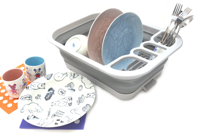 SAMMART Collapsible Dish Drainer Board