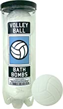 Volleyball Bath Bombs - 3 pack - Volleyball Gifts - Luxury Scented Bath Bomb Fizzies - Great Gift for Volleyball players, Teammates, Opponents, Volleyball Clubs & Leagues, Birthdays, Men, Boys, Women