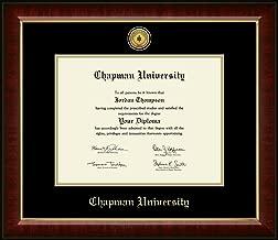 chapman university diploma frame