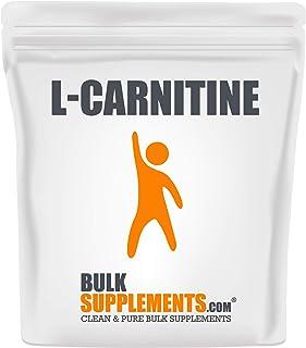 BulkSupplements.com L-Carnitine Powder - Fat Burner Supplements - Amino Acids Supplement - Mens Fat Burner - Womens Pre Wo...