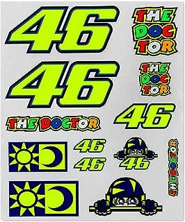 Valentino Rossi Multi Vr46 Big Classic Sticker Pack (Default, Yellow)