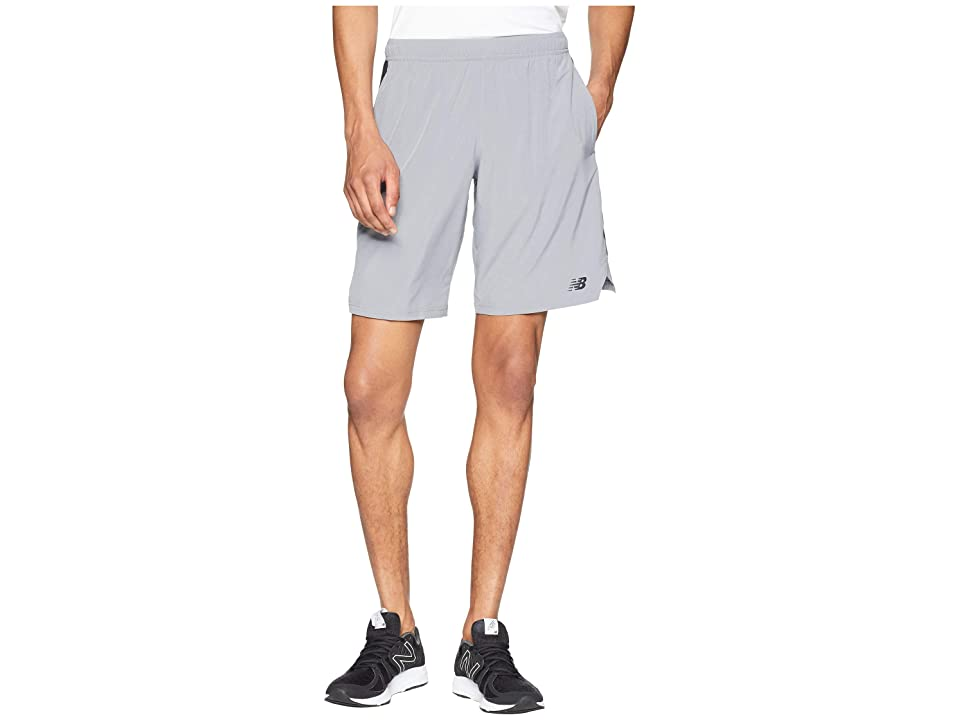 New Balance Tenacity Woven Shorts (Gunmetal) Men