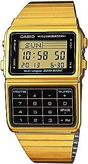 Casio #DBC611G-1D Men's Gold Tone 25 Memory Calculator...