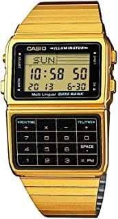 Casio #DBC611G-1D Men's Gold Tone 25 Memory Calculator...