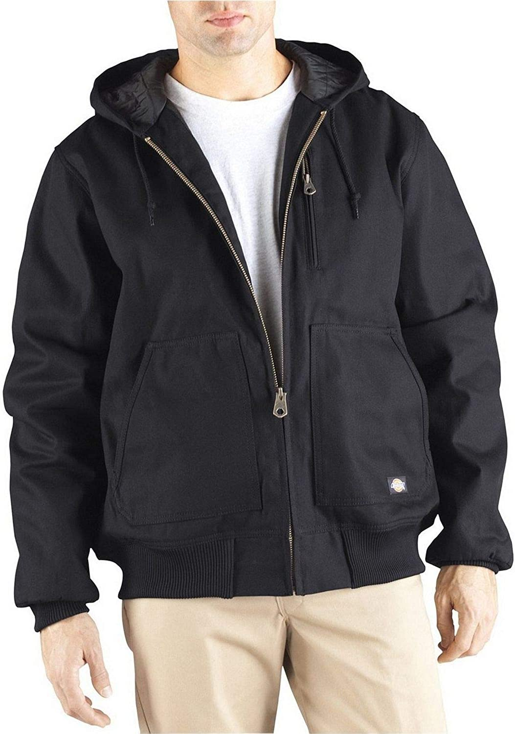 Dickies Men's Hooded Duck Jacket Big and Tall
