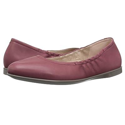 ECCO Incise Enchant Ballerina (Petal Trim Calf Leather) Women