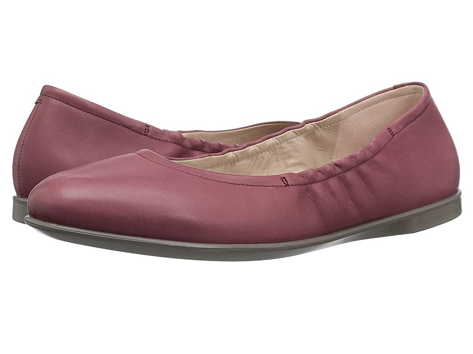 ECCO Incise Enchant Ballerina (Petal Trim Calf Leather) Women