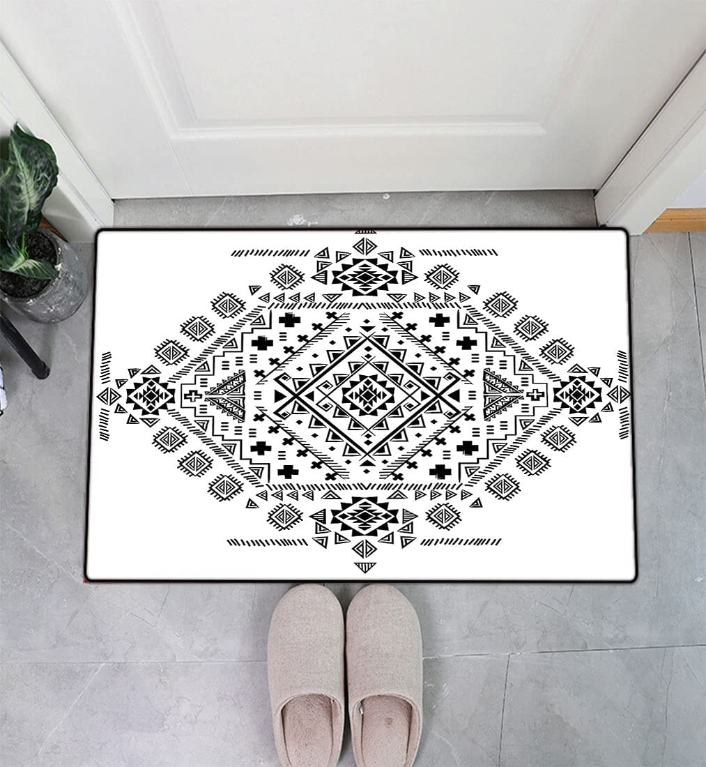 Mexican Decor Entry Way Doormat depot Pattern Prehistori Ancient Max 74% OFF with