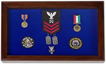 Military Award Shadow Box Display Case - Large