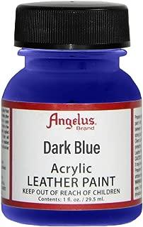 Angelus Leather Paint 4 Oz Dark Blue