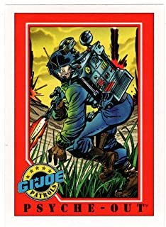 Psyche-Out - G.I. Joe Series 1 (Trading Card) # 150 - Impel 1991 NM/MT
