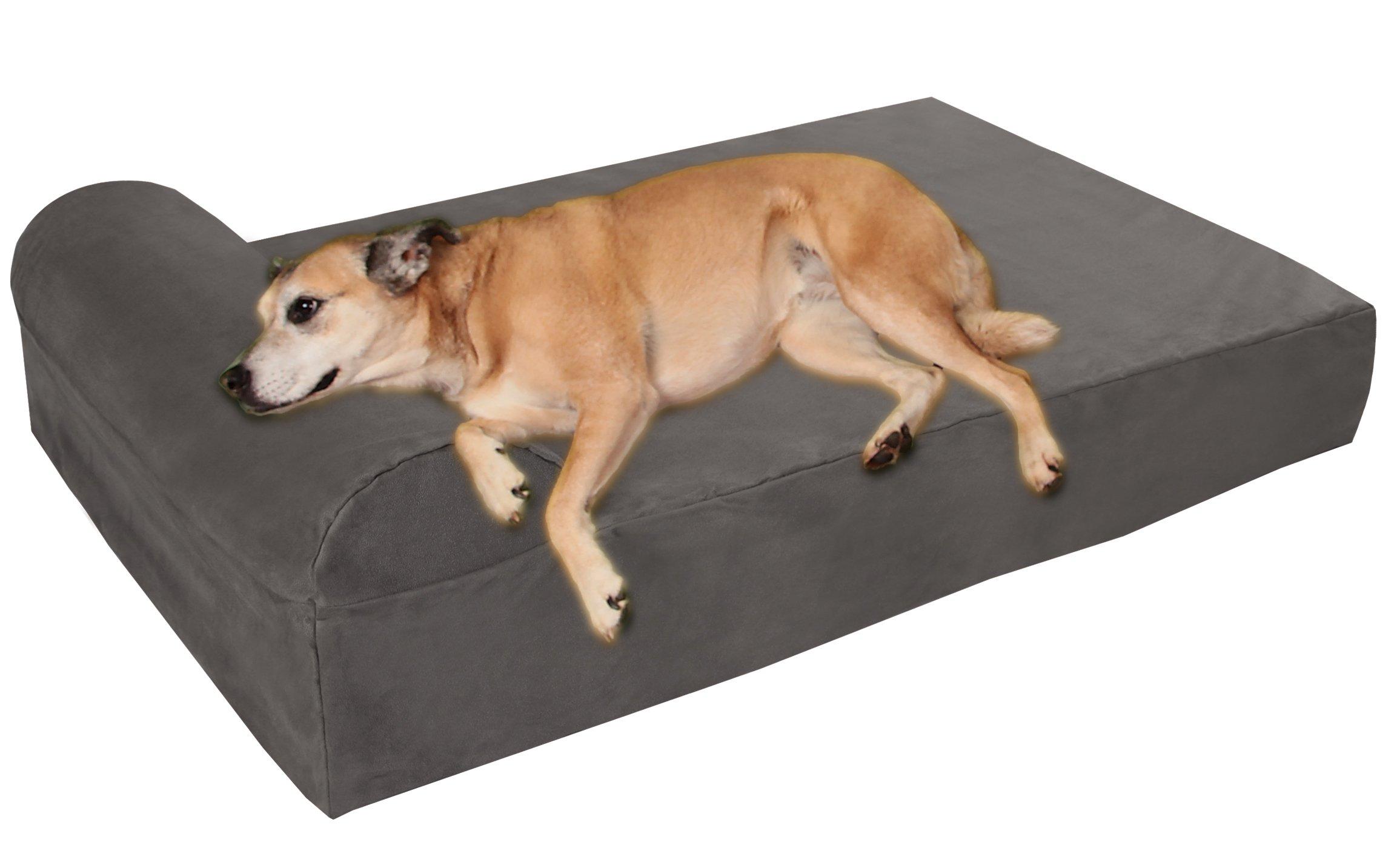 Big Barker Orthopedic Pillow Top Microfiber