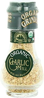 Drogheria & Alimentari Organic All Natural Spice Grinder Garlic, 1.76 Ounce Jars (Pack of 3)