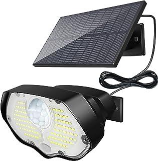 106 LED Lampe Solaire Extérieur, KOLPOP IP65 Étanche Applique Eclairage Exterieur Solaire Sécurité Avec Detecteur de Mouve...
