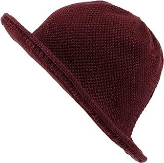 WITHMOONS Winter Wool Short Brim Womens Bowler Bucket Fodora Hat SLB1238