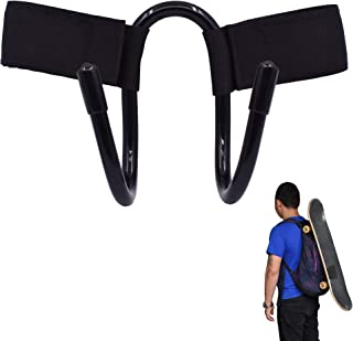 YYST Backpack Attachment Carrier Hanger Rack Hook Holder for Carrying Mini Cruiser, Cruiser Board,Skateboard - Fit Most Ba...