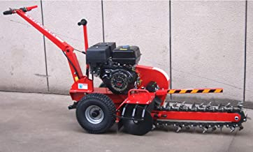 Samson Machinery 15HP Gas Powered Trencher Walk Behind Trench Digger 24