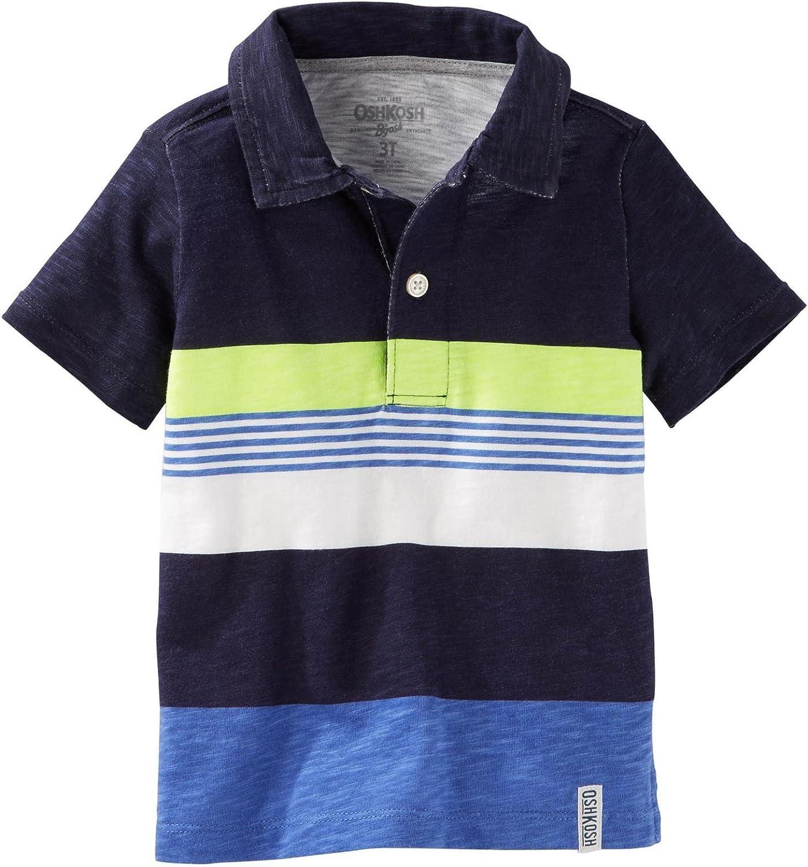 OshKosh B'Gosh Boys' Knit Polo Henley 31988012